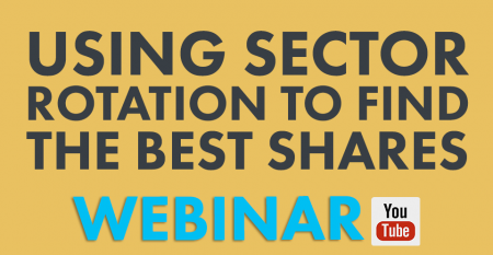 USING sector rotation to find the best shares to trade