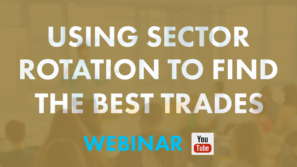 Learn how to spot sector rotation within the equity and shares market with Peet Serfontein and Traders Textbook during this webinar.