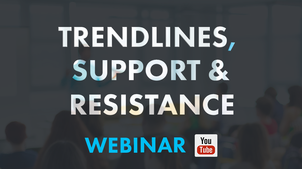 How do you use trend lines and support and resistance